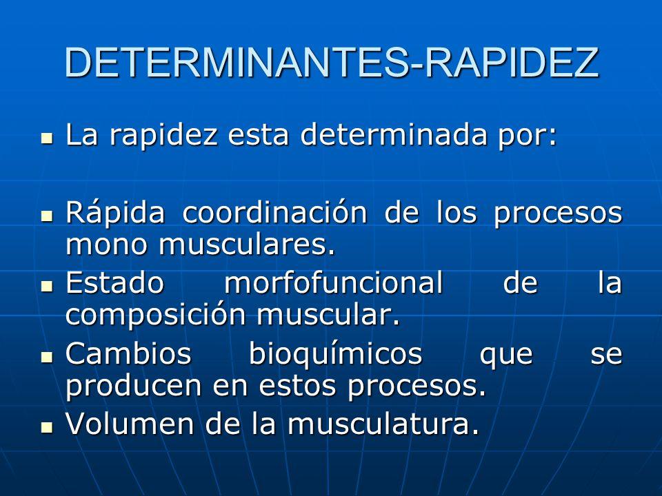DETERMINANTES-RAPIDEZ