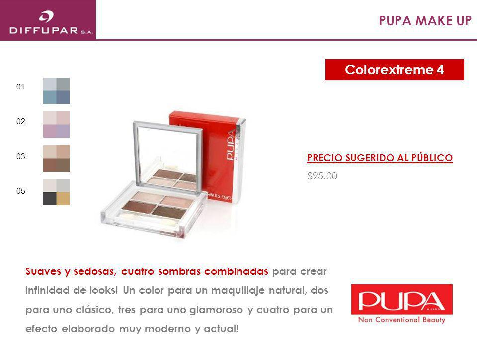 PUPA MAKE UP Colorextreme 4