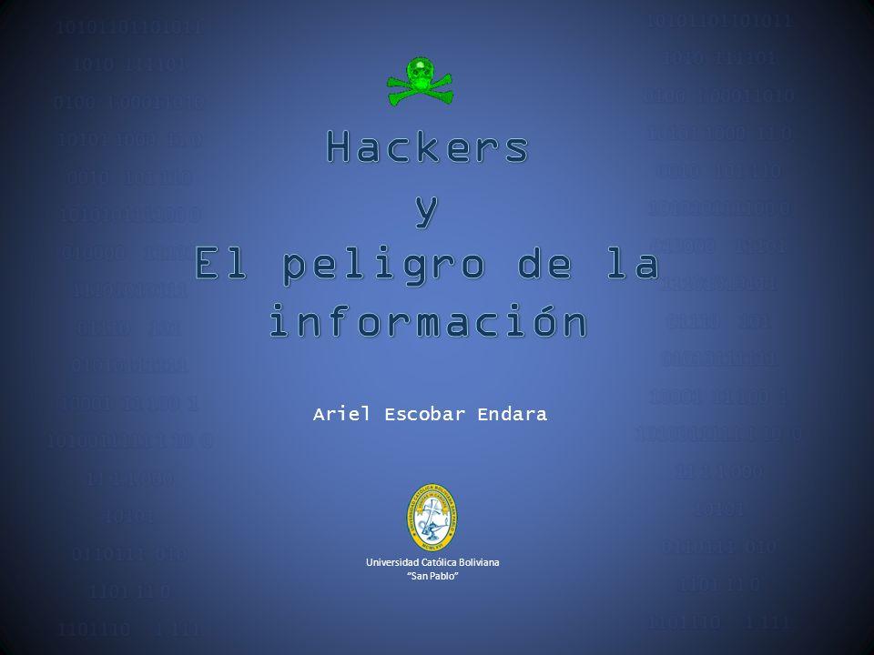El peligro de la información