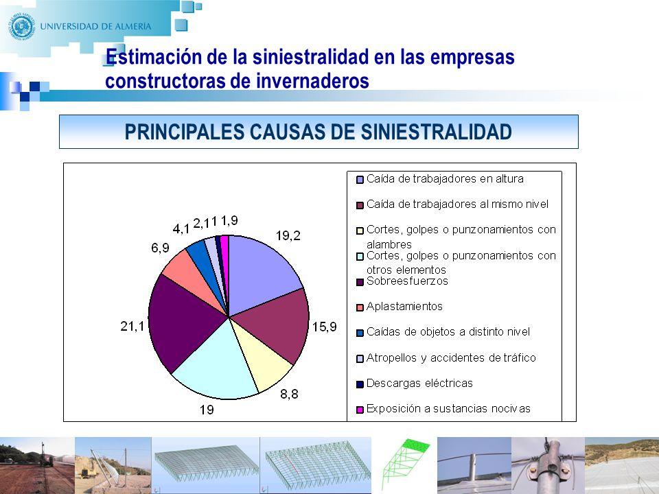PRINCIPALES CAUSAS DE SINIESTRALIDAD