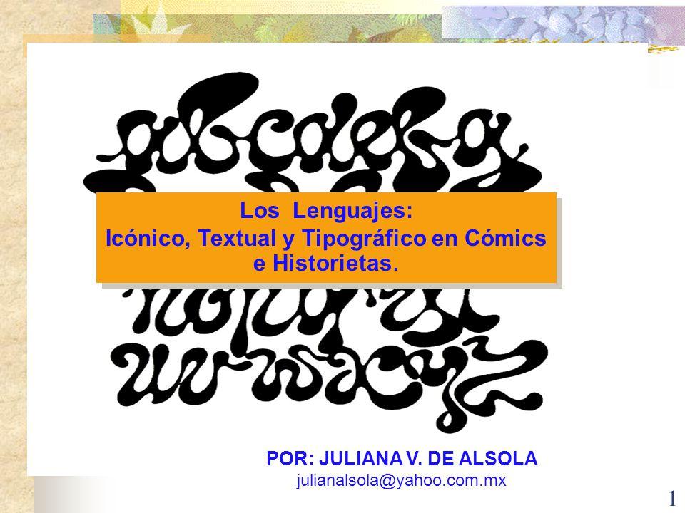 POR: JULIANA V. DE ALSOLA