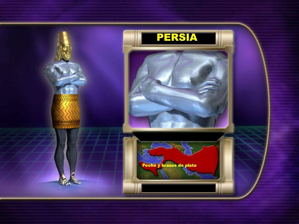 PERSIA Pecho y brazos de plata