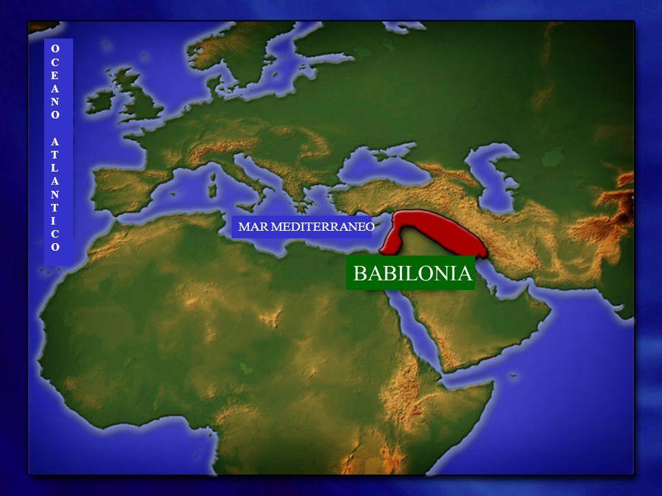 O C E A N T L I MAR MEDITERRANEO BABILONIA