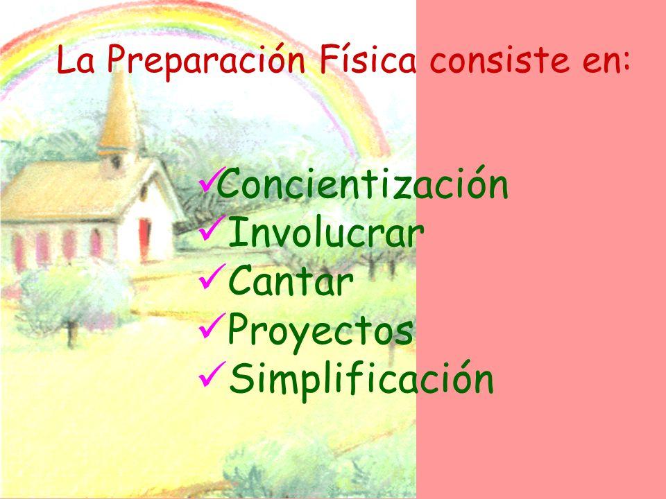 La Preparación Física consiste en: