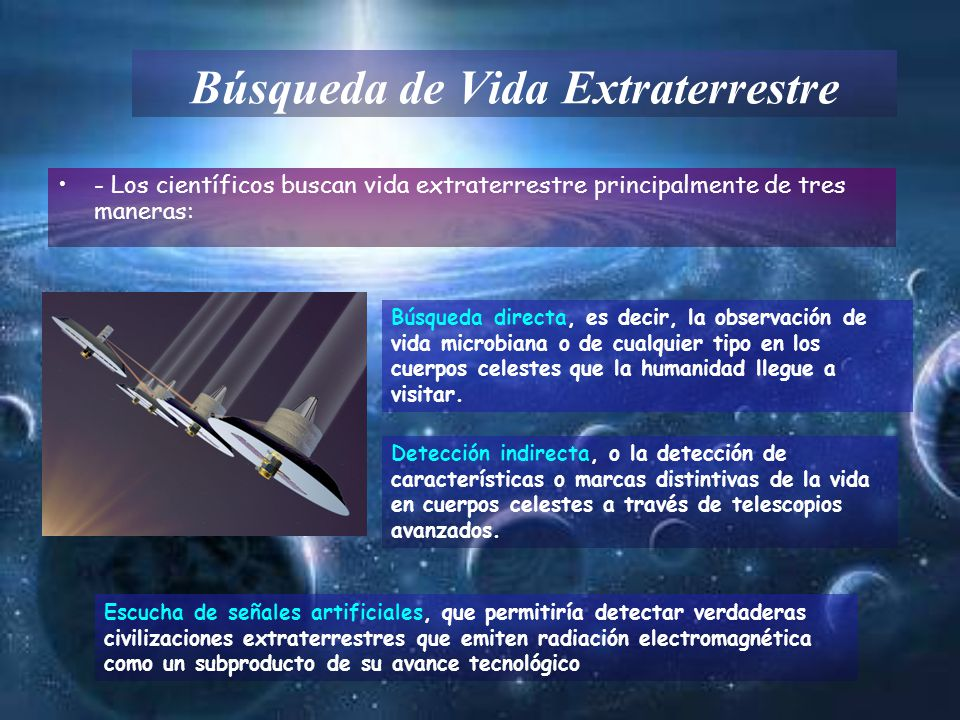Búsqueda de Vida Extraterrestre