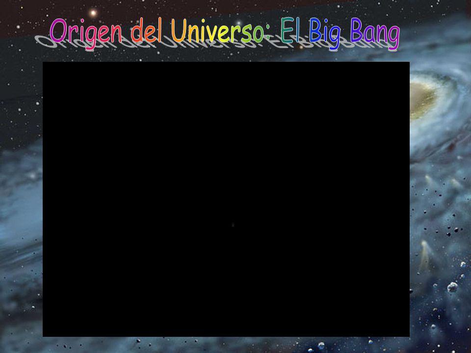 Origen del Universo: El Big Bang