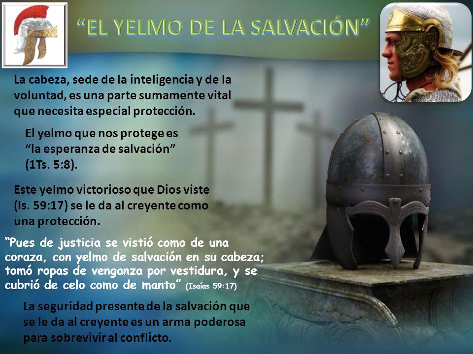 EL YELMO DE LA SALVACIÓN