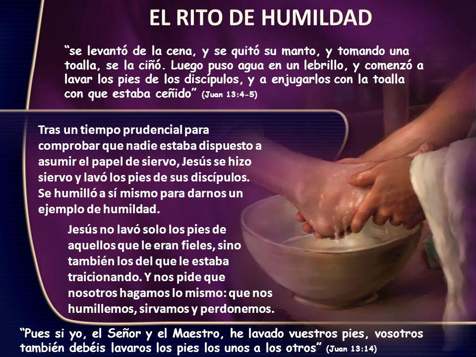 EL RITO DE HUMILDAD