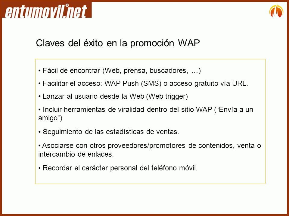 Claves del éxito en la promoción WAP