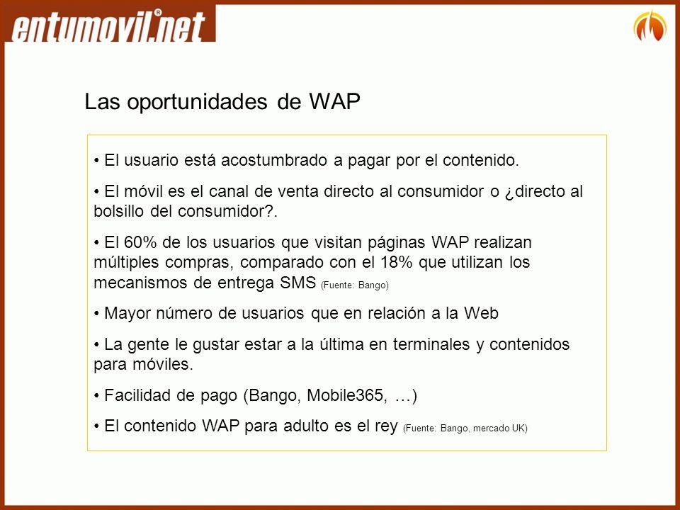Las oportunidades de WAP