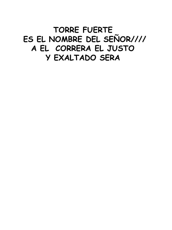 ES EL NOMBRE DEL SEÑOR////