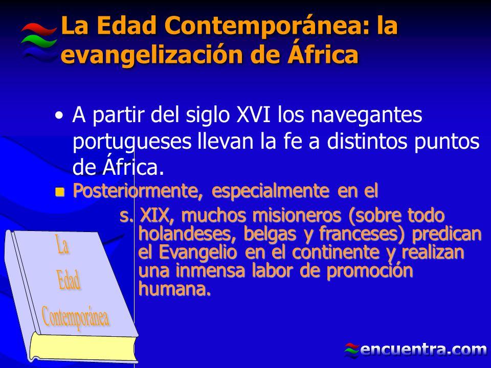 La Edad Contemporánea: la evangelización de África