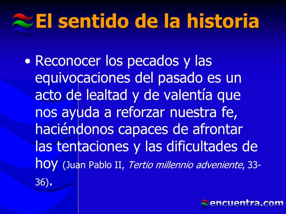 El sentido de la historia