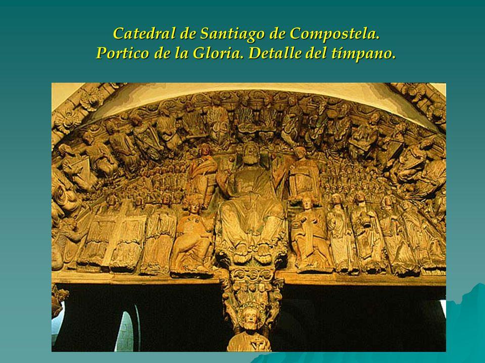 Catedral de Santiago de Compostela. Portico de la Gloria
