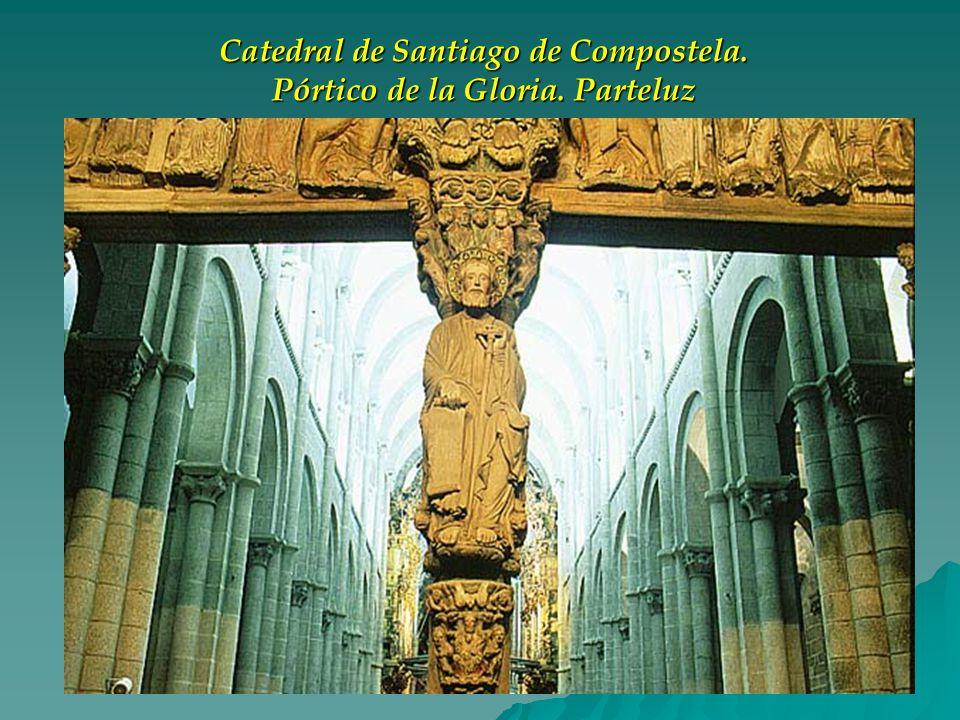 Catedral de Santiago de Compostela. Pórtico de la Gloria. Parteluz