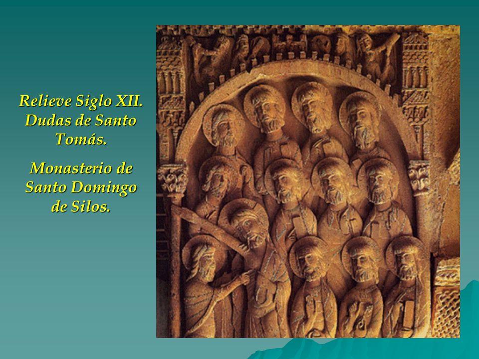 Relieve Siglo XII. Dudas de Santo Tomás.