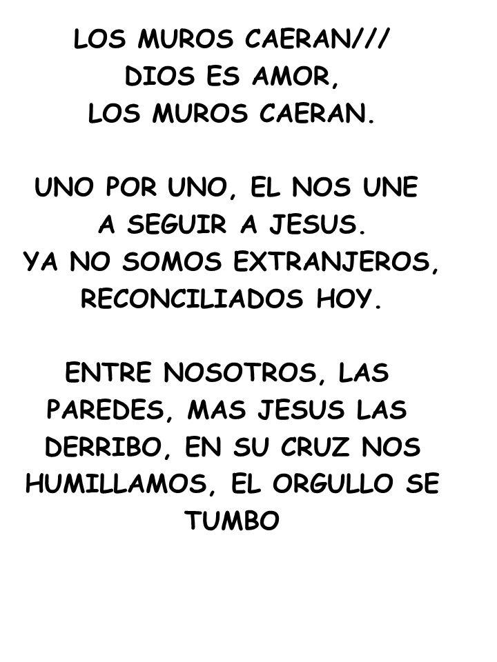 YA NO SOMOS EXTRANJEROS, HUMILLAMOS, EL ORGULLO SE