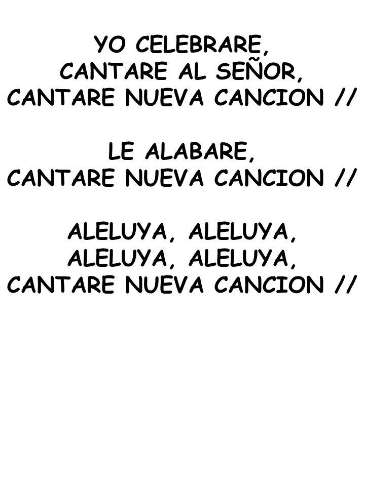 CANTARE NUEVA CANCION //