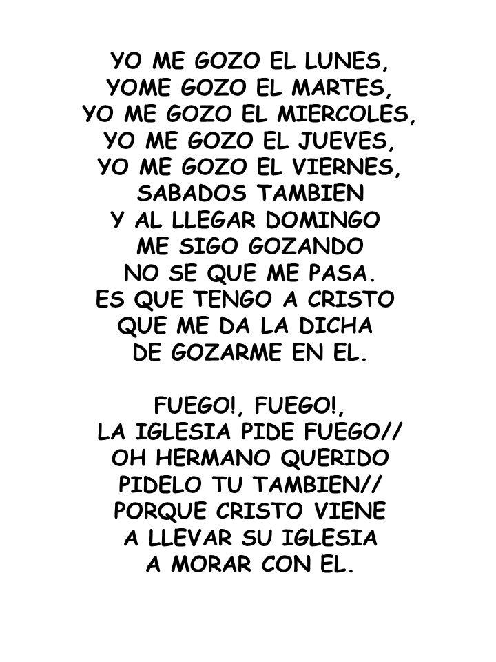 LA IGLESIA PIDE FUEGO//
