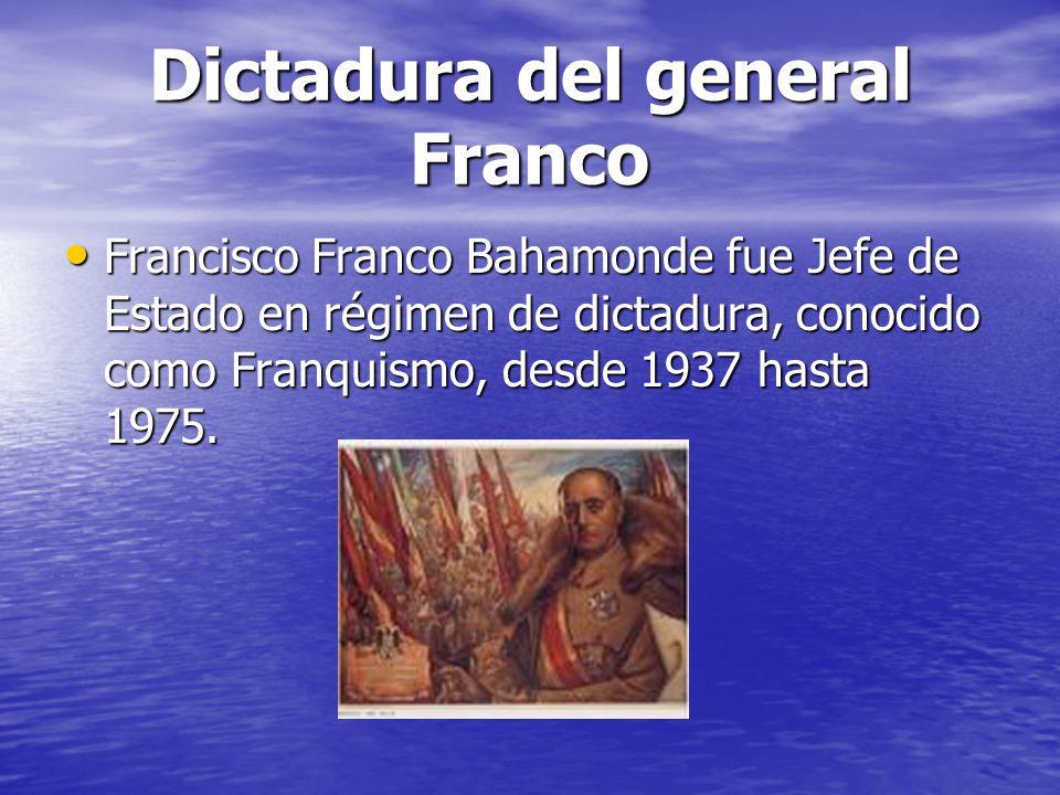 Dictadura del general Franco
