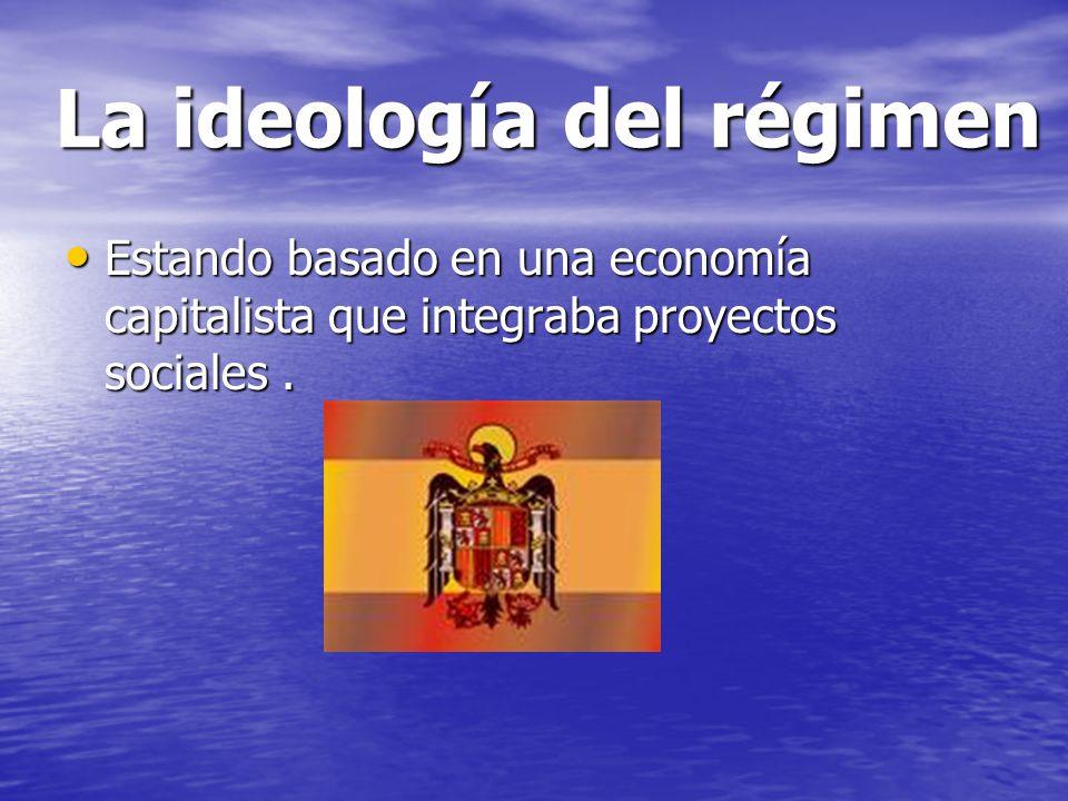 La ideología del régimen
