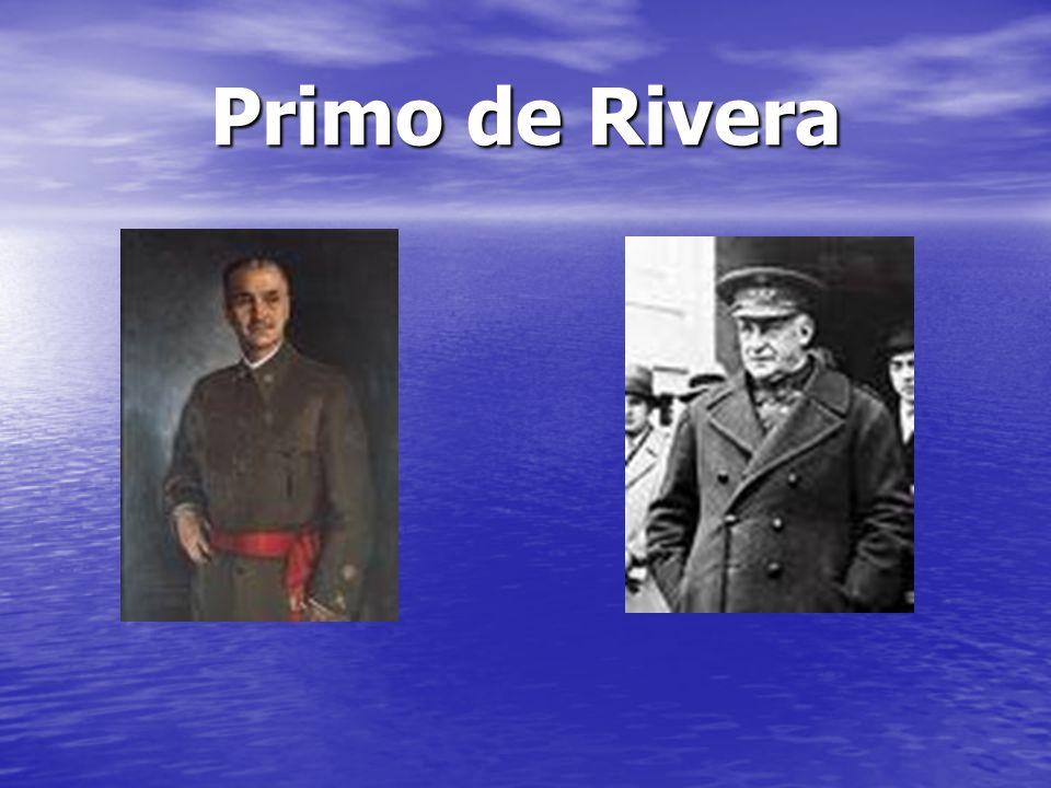 Primo de Rivera