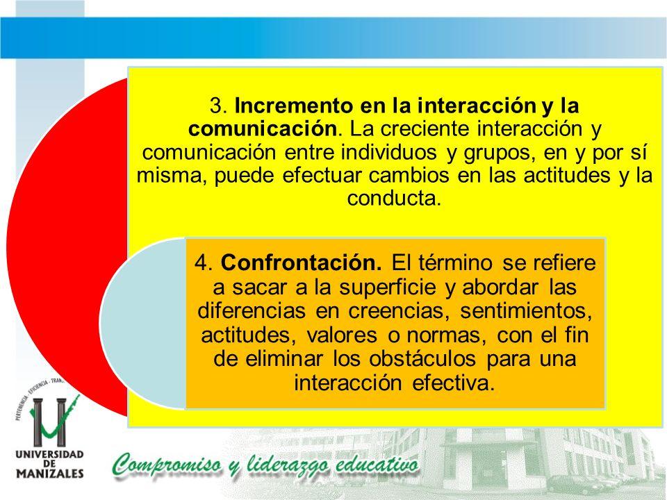 3. Incremento en la interacción y la comunicación