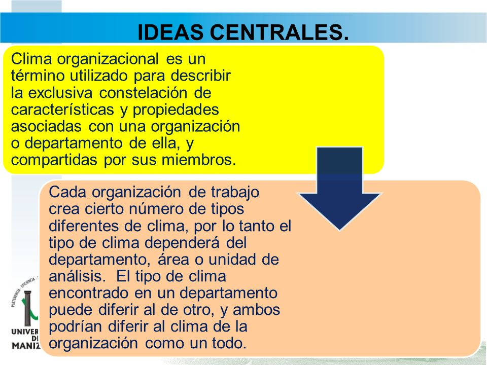 IDEAS CENTRALES.