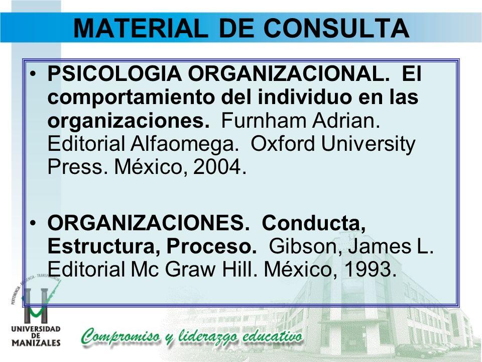 MATERIAL DE CONSULTA
