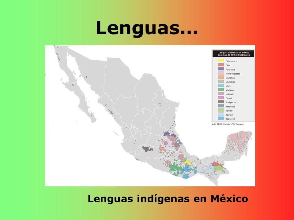 Lenguas… Lenguas indígenas en México