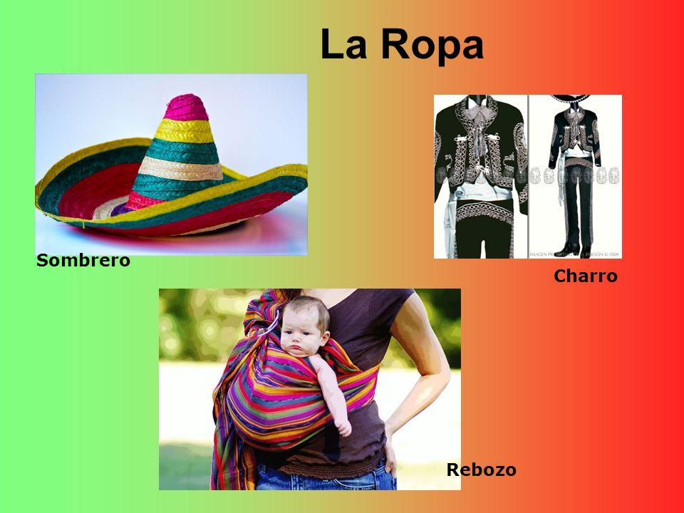 La Ropa Sombrero Charro Rebozo