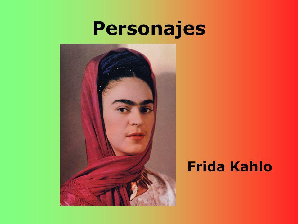 Personajes Frida Kahlo