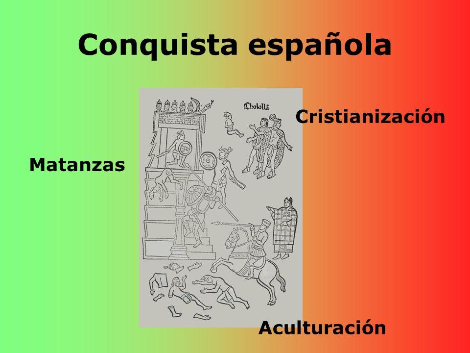 Conquista española Cristianización Matanzas Aculturación