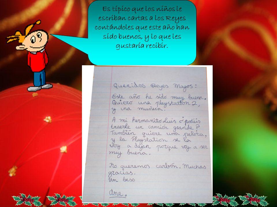 Es típico que los niños le escriban cartas a los Reyes contándoles que este año han sido buenos, y lo que les gustaría recibir.