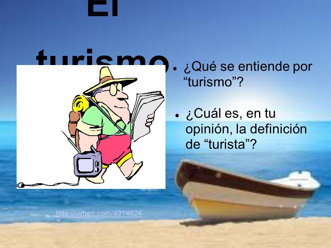 El turismo qu se entiende por turismo ppt descargar for Que se entiende por arquitectura