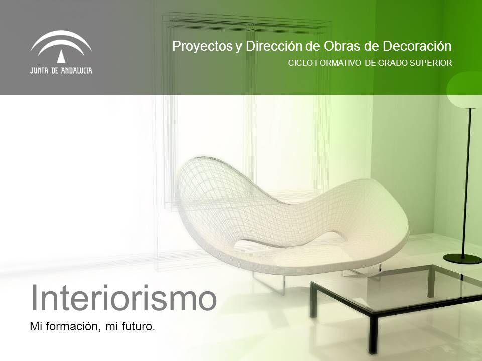Interiorismo Proyectos y Dirección de Obras de Decoración