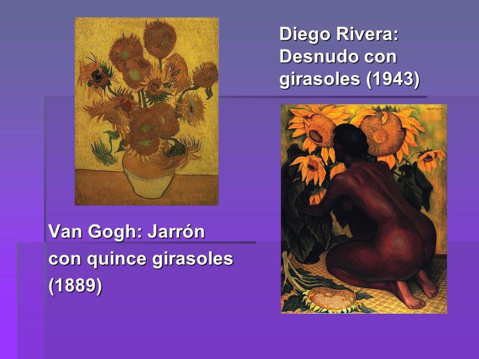 Diego Rivera: Desnudo con girasoles (1943)