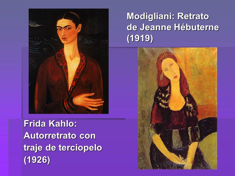 Modigliani: Retrato de Jeanne Hébuterne (1919)