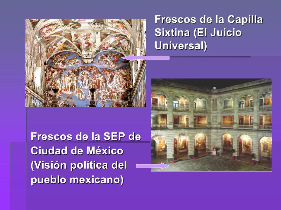 Frescos de la Capilla Sixtina (El Juicio Universal)