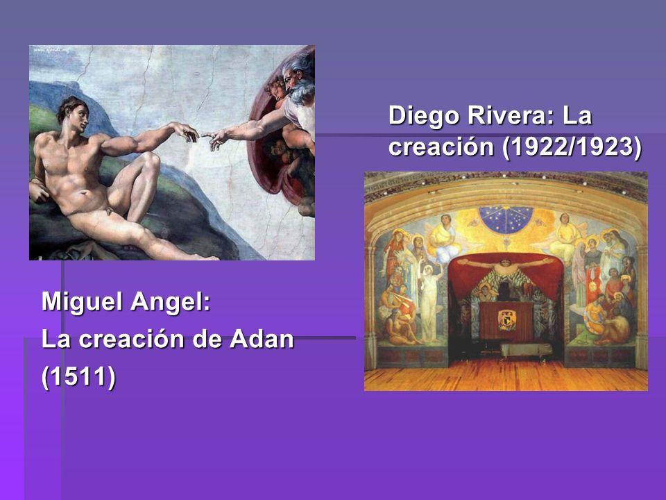 Diego Rivera: La creación (1922/1923)