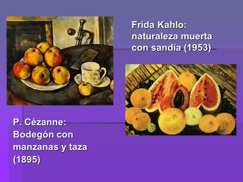 Frida Kahlo: naturaleza muerta con sandía (1953)