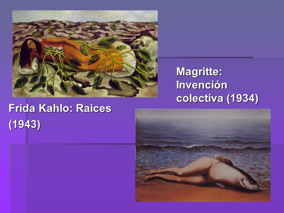 Magritte: Invención colectiva (1934)