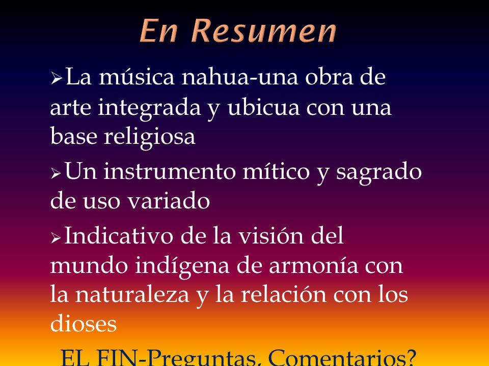 EL FIN-Preguntas, Comentarios