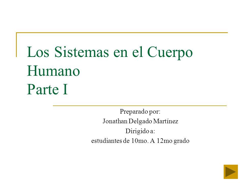 Los Sistemas en el Cuerpo Humano Parte I