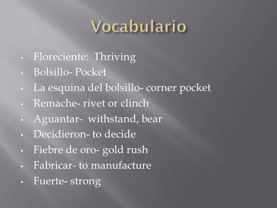 Vocabulario Floreciente: Thriving Bolsillo- Pocket