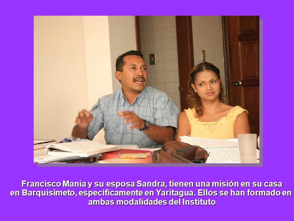 Francisco Mania y su esposa Sandra, tienen una misión en su casa