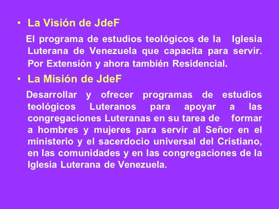 La Visión de JdeF