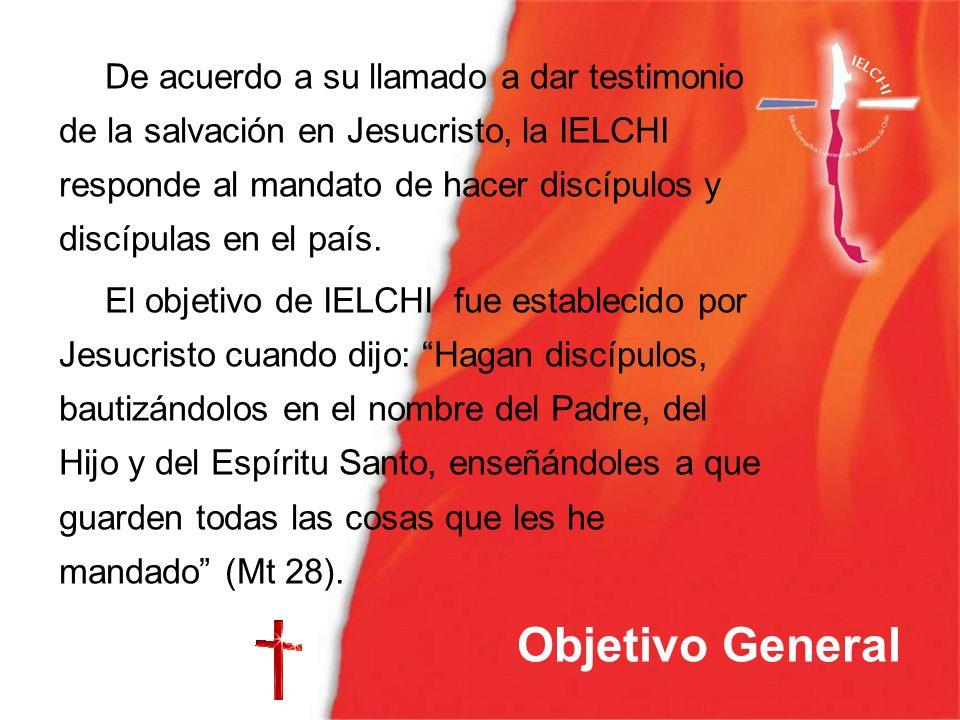 De acuerdo a su llamado a dar testimonio de la salvación en Jesucristo, la IELCHI responde al mandato de hacer discípulos y discípulas en el país.