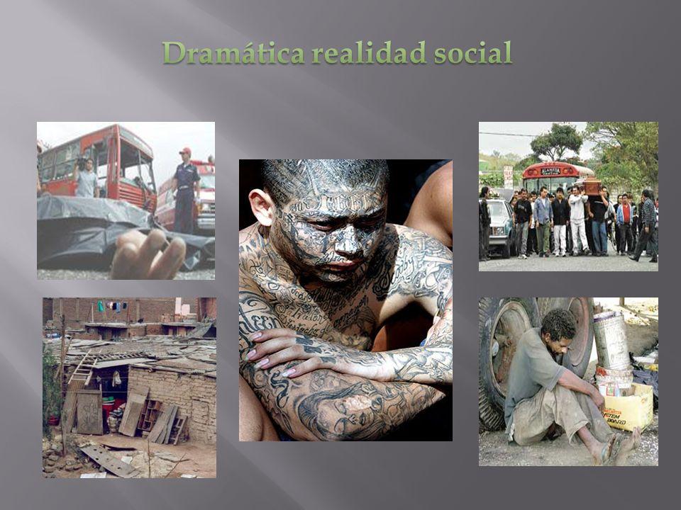 Dramática realidad social