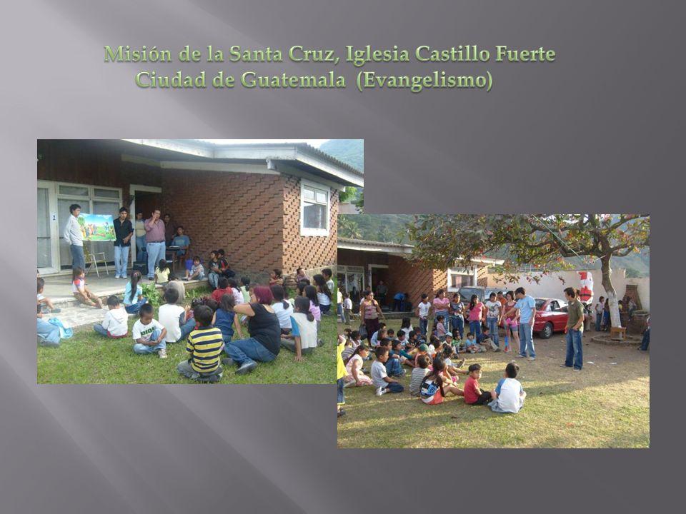 Misión de la Santa Cruz, Iglesia Castillo Fuerte